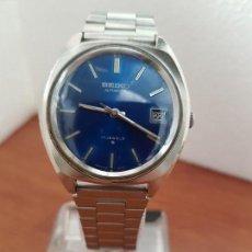 Relojes - Seiko: RELOJ CABALLERO (VINTAGE) SEIKO AUTOMÁTICO 17 RUBIS, EN ACERO CON CORREA DE ACERO ORIGINAL . Lote 171177783