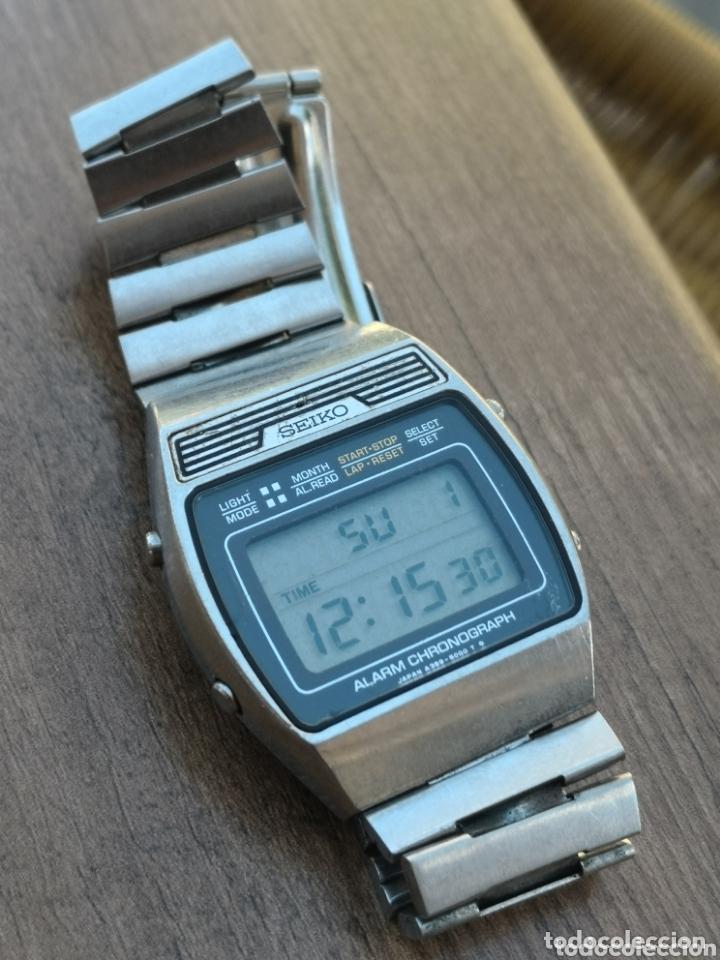 nuevo producto 1fd55 e71a7 C1/2 reloj vintage seiko digital raro - Sold at Auction ...