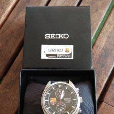 Relojes - Seiko: RELOJ OFICIAL DEL FC BARCELONA. SIN USAR. CON CAJA.. Lote 174068178