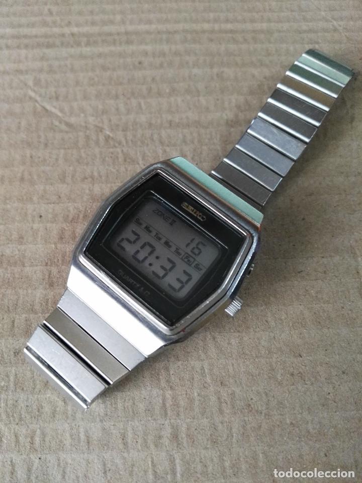 Relojes - Seiko: Seiko digital de los años setenta - Foto 2 - 174413009