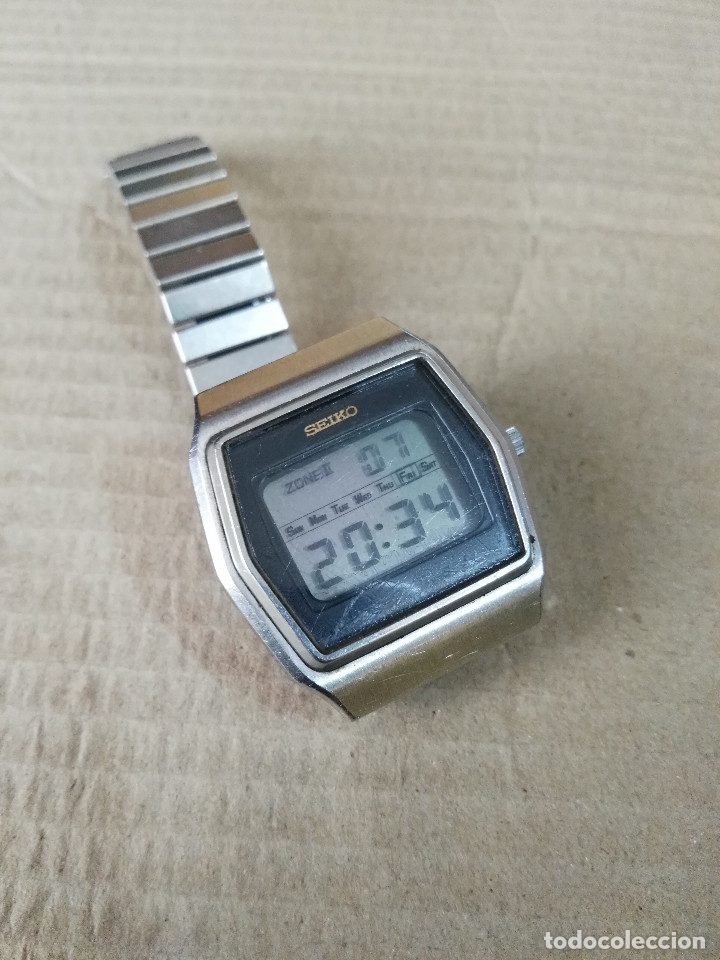 Relojes - Seiko: Seiko digital de los años setenta - Foto 5 - 174413009