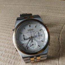 Relojes - Seiko: SEIKO AÑOS '80 CRONOGRAPH DOBLE CALENDARIO. Lote 174413239