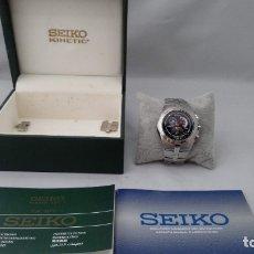 Relojes - Seiko: SEIKO ARCTURA KINETIC CHRONOGRAPH. Lote 174464642