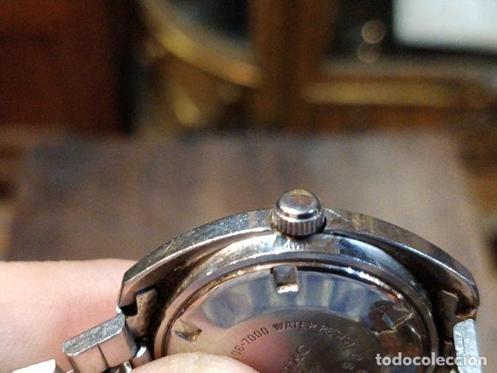 Relojes - Seiko: Reloj de pulsera Seiko automático para señora. Correa de acero. Setentero - Foto 4 - 41677294