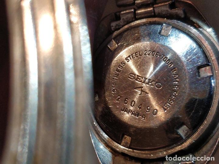 Relojes - Seiko: Reloj de pulsera Seiko automático para señora. Correa de acero. Setentero - Foto 5 - 41677294