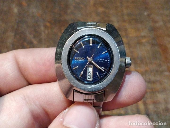 Relojes - Seiko: Reloj de pulsera Seiko automático para señora. Correa de acero. Setentero - Foto 2 - 41677294