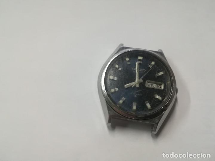 Relojes - Seiko: RELOJ SEIKO AUTOMATICO FUNCIONA - Foto 2 - 178005217