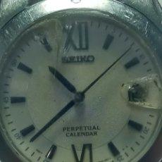 Relojes - Seiko: RELOJ SEIKO CALENDARIO PERPETUO (LEER). Lote 179332575