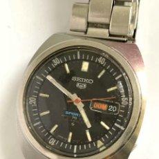 Relojes - Seiko: RELOJ VINTAGE SEIKO 6119-6023 SPORTS DIVER'S AUTOMÁTICO CON DÍA Y FICHA JAPAN. Lote 181445168