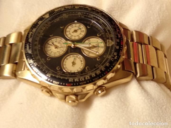 Relojes - Seiko: reloj Seiko 150 sports nuevo a estrenar caja garantía instrucciones modelo 7t34-6a00 vintage dorado - Foto 6 - 182102368