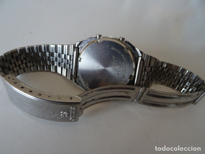 Relojes - Seiko: ANTIGUO RELOJ SEIKO QUARTZ ALARMA - CRONOMETRO - Foto 3 - 182602453