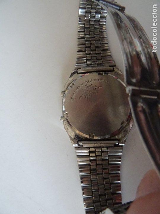 Relojes - Seiko: ANTIGUO RELOJ SEIKO QUARTZ ALARMA - CRONOMETRO - Foto 4 - 182602453