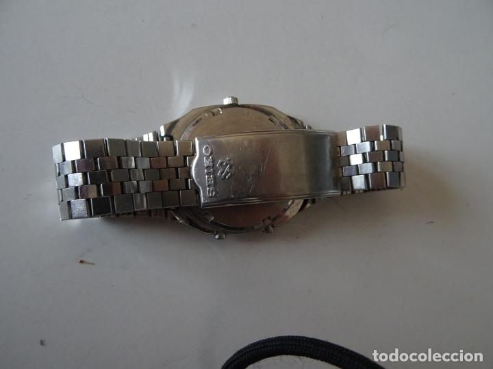 Relojes - Seiko: ANTIGUO RELOJ SEIKO QUARTZ ALARMA - CRONOMETRO - Foto 5 - 182602453