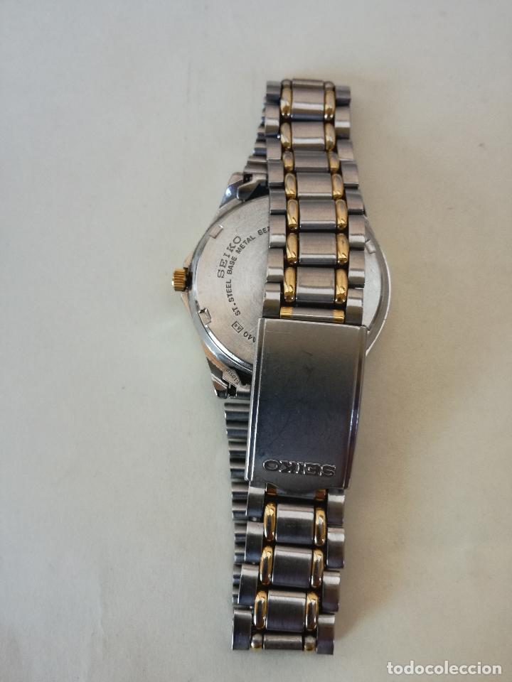 Relojes - Seiko: RELOJ VINTAGE SEIKO 7N43-6A40 (A4) - RELOJ PAR AHOMBRE - FUNCIONANDO PERFECTAMENTE - Foto 5 - 182894206