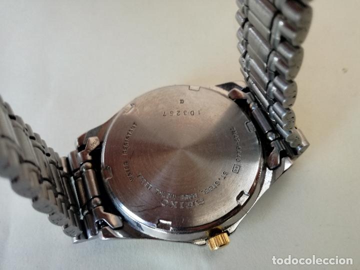 Relojes - Seiko: RELOJ VINTAGE SEIKO 7N43-6A40 (A4) - RELOJ PAR AHOMBRE - FUNCIONANDO PERFECTAMENTE - Foto 6 - 182894206