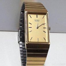 Relojes - Seiko: RELOJ SEIKO SEÑORA AÑOS 80 DE CUARZO CHAPADO EN ORO CALIBRE 8620 Y NUEVO. Lote 183826578