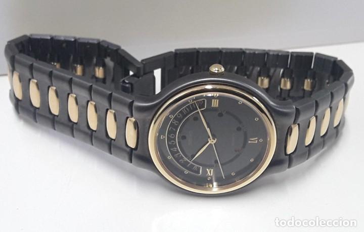 Relojes - Seiko: PRECIOSO RELOJ SEIKO BICOLOR AÑOS 80 DE CUARZO Y NUEVO - Foto 4 - 184042041