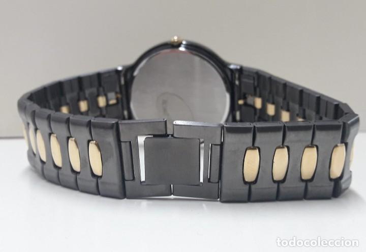 Relojes - Seiko: PRECIOSO RELOJ SEIKO BICOLOR AÑOS 80 DE CUARZO Y NUEVO - Foto 8 - 184042041