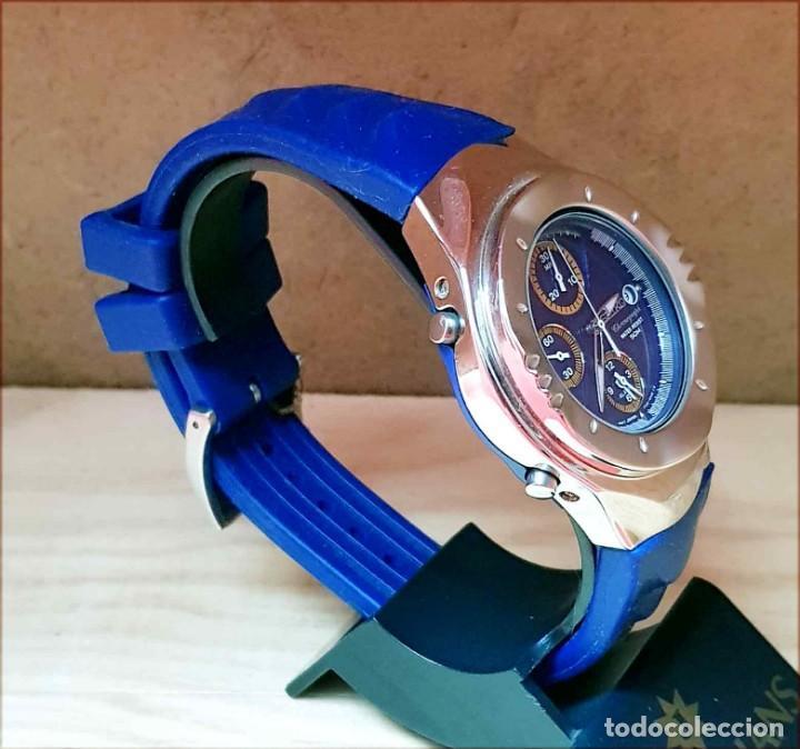 Relojes - Seiko: RELOJ SEIKO cronografo 7T32-6L10, MACCHINA SPORTIVA GIUGIARO DESING, VINTAGE, NOS (new old stock) - Foto 4 - 184453302