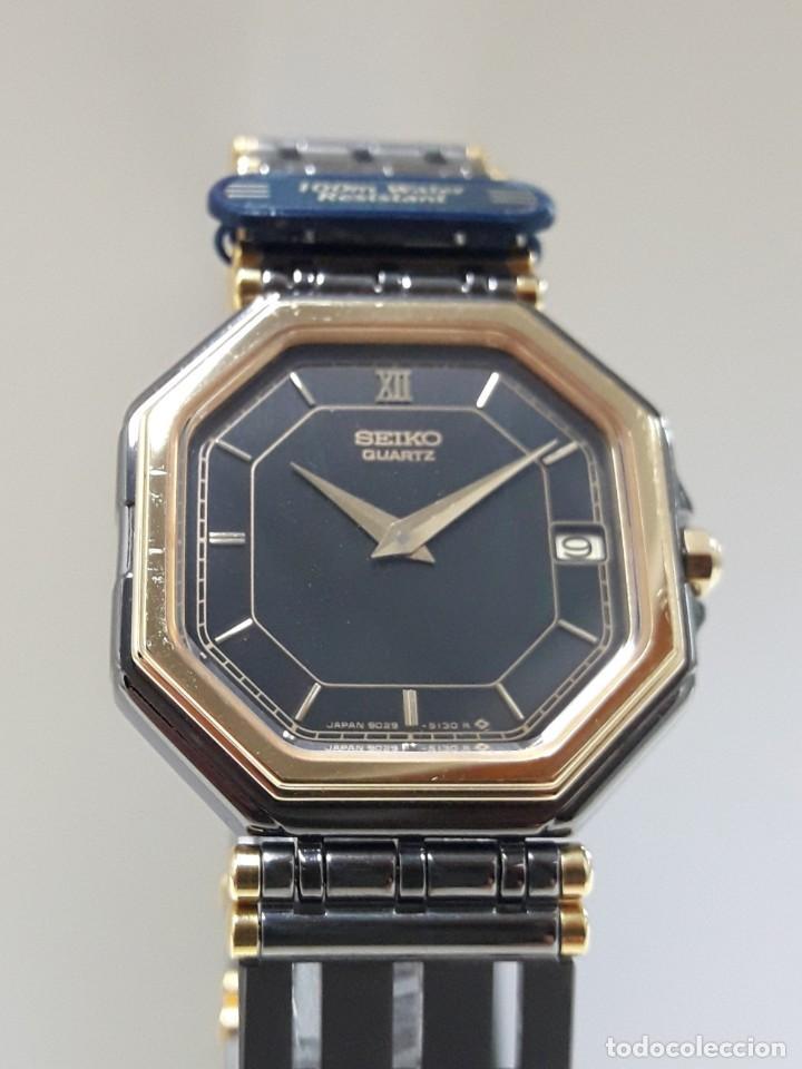 Relojes - Seiko: ELEGANTE RELOJ SEIKO CUARZO AÑOS 80 TOTALMENTE NUEVO NOS. - Foto 8 - 184558495