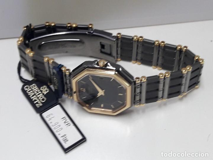 Relojes - Seiko: ELEGANTE RELOJ SEIKO CUARZO AÑOS 80 TOTALMENTE NUEVO NOS. - Foto 6 - 184558495