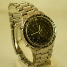 Relojes - Seiko: SEIKO 7T34 6A00 FLIGHTMASTER CRONOGRAFO DE PILOTO CON ARMYS FUNCIONANDO. Lote 185473651