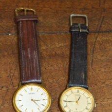 Relojes - Seiko: LOTE DE 2 RELOJES SEIKO Y CITIZEN. QUARTZ. Lote 185694465