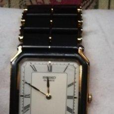 Relojes - Seiko: ORIGINAL RELOJ VINTAGE MUJER CAJA RECTANGULAR NUMEROS ROMANOS. Lote 186428596