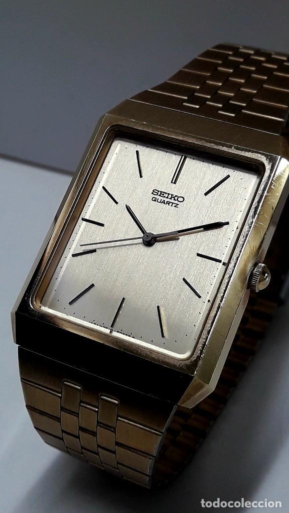 Relojes - Seiko: RELOJ SEIKO AÑOS 80 CHAPADO EN ORO DE CUARZO CALIBRE 7810 Y NUEVO - Foto 5 - 186429802