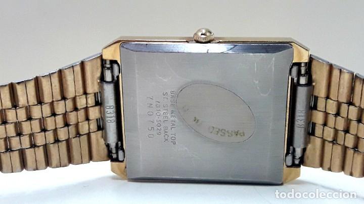 Relojes - Seiko: RELOJ SEIKO AÑOS 80 CHAPADO EN ORO DE CUARZO CALIBRE 7810 Y NUEVO - Foto 7 - 186429802
