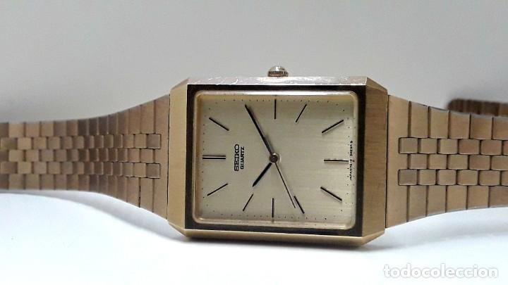 Relojes - Seiko: RELOJ SEIKO AÑOS 80 CHAPADO EN ORO DE CUARZO CALIBRE 7810 Y NUEVO - Foto 8 - 186429802