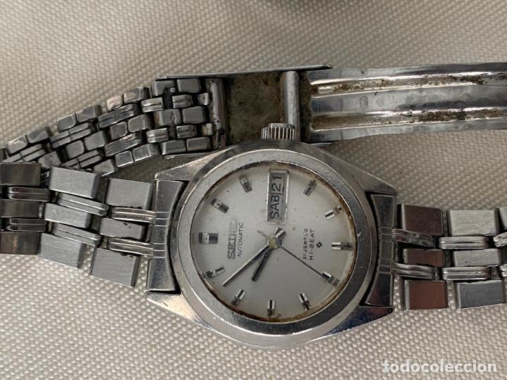 Relojes - Seiko: LOTE DE 2 RELOJES SEIKO AUTOMATICOS , HI BEAT DE SEÑORA - Foto 2 - 187384288