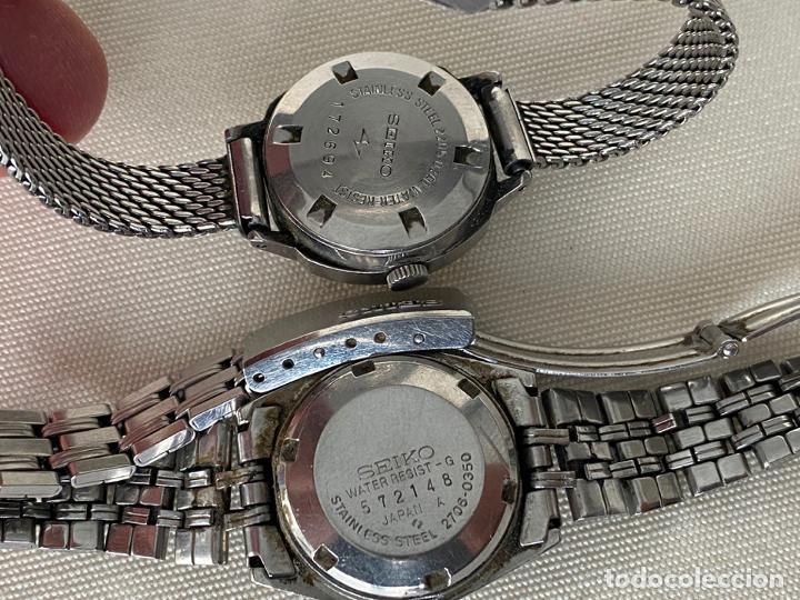 Relojes - Seiko: LOTE DE 2 RELOJES SEIKO AUTOMATICOS , HI BEAT DE SEÑORA - Foto 4 - 187384288