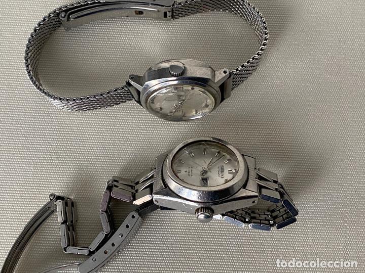 Relojes - Seiko: LOTE DE 2 RELOJES SEIKO AUTOMATICOS , HI BEAT DE SEÑORA - Foto 5 - 187384288