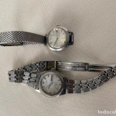 Relojes - Seiko: LOTE DE 2 RELOJES SEIKO AUTOMATICOS , HI BEAT DE SEÑORA . Lote 187384288