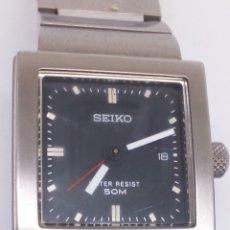 Relojes - Seiko: RELOJ SEIKO QUARTZ CORREA ORIGINAL COMO NUEVO. Lote 187572748