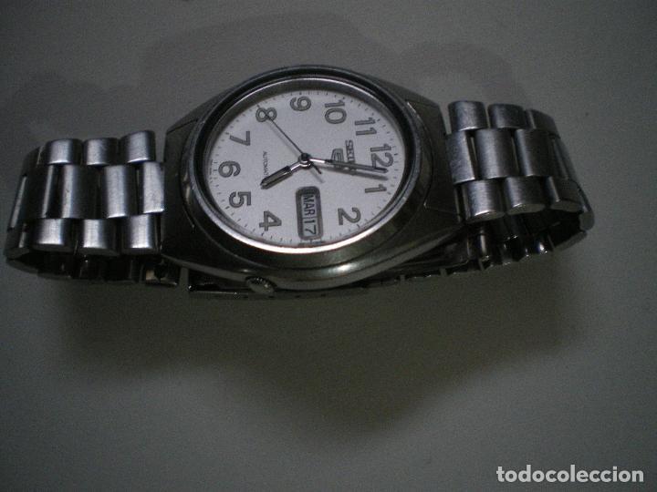 Relojes - Seiko: SEIKO CON NUMEROS Y CALENDARIO AUTOMATICO - Foto 4 - 188403187