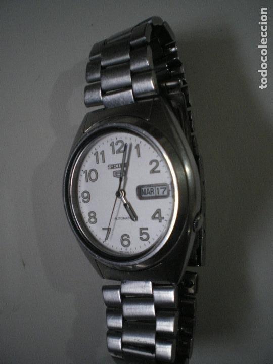Relojes - Seiko: SEIKO CON NUMEROS Y CALENDARIO AUTOMATICO - Foto 5 - 188403187