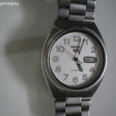 Relojes - Seiko: SEIKO 5 CON NUMEROS Y CALENDARIO AUTOMATICO. Lote 188403187