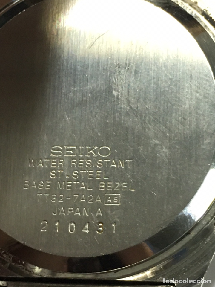 Relojes - Seiko: Reloj Seiko Chronograph acero completo modelo 7T32-7A2A en funcionamiento - Foto 6 - 188532901