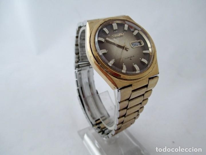 Relojes - Seiko: Seiko automático con cristal facetado funcionando - Foto 3 - 188654100