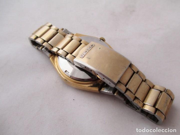 Relojes - Seiko: Seiko automático con cristal facetado funcionando - Foto 6 - 188654100