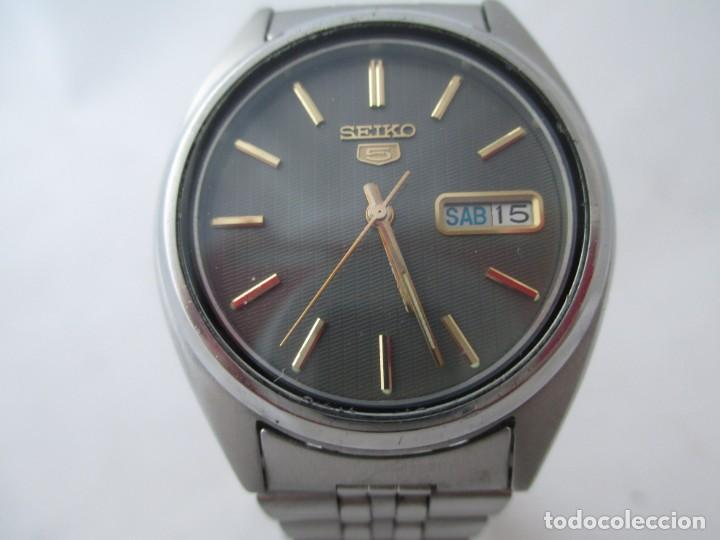 RELOJ SEIKO 5 AUTOMÁTICO FUNCIONANDO (Relojes - Relojes Actuales - Seiko)