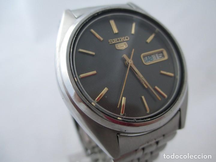 Relojes - Seiko: Reloj Seiko 5 automático funcionando - Foto 2 - 188654695