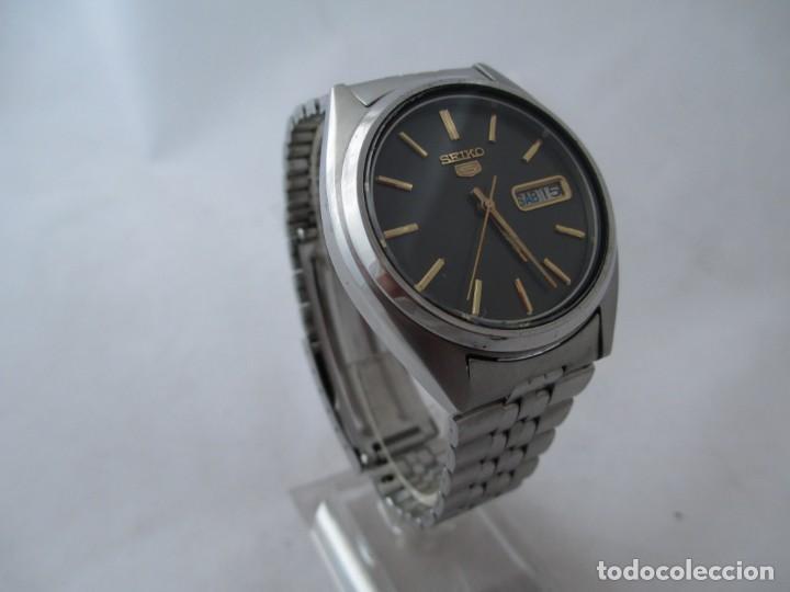 Relojes - Seiko: Reloj Seiko 5 automático funcionando - Foto 3 - 188654695