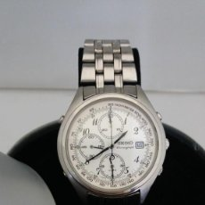 Relojes - Seiko: RELOJ SEIKO ALARMA CRONOMETRO, 7T32-7C60 ACERO JAPAN.. Lote 189625428