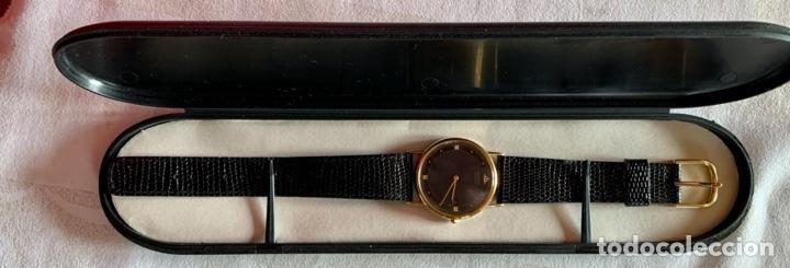 Relojes - Seiko: RELOJ DE PULSERA SEIKO QUARTZ, ESFERA NEGRA, CORREA NEGRA, NUEVO, PROCEDENTE STOCK RELOJERÍA - Foto 9 - 189830253