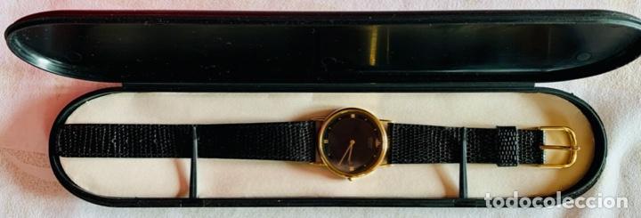 Relojes - Seiko: RELOJ DE PULSERA SEIKO QUARTZ, ESFERA NEGRA, CORREA NEGRA, NUEVO, PROCEDENTE STOCK RELOJERÍA - Foto 10 - 189830253