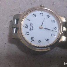Relojes - Seiko: RELOJ (SEIKO QUARTZ SEÑORA) NECESITA PILA . Lote 190306507
