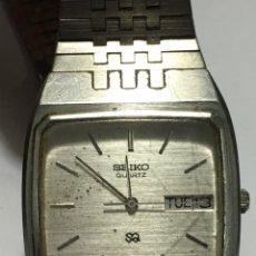 Relógios - Seiko: RELOJ SEIKO QUARTZ SQ MODELO 8223-5160 R EN ACERO COMPLETO EN FUNCIONAMIENTO. Lote 207010182